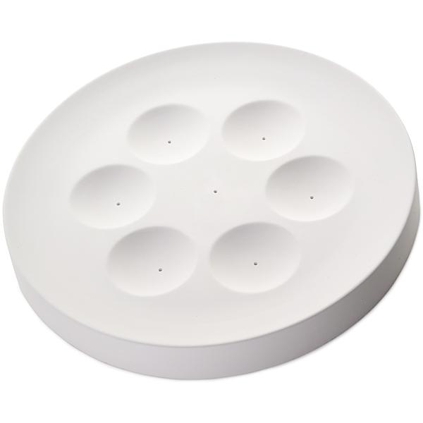 Seder Plate - 31.2x3.5cm - Öffnung: 6 x 6.6x1.3cm - Fusing Form