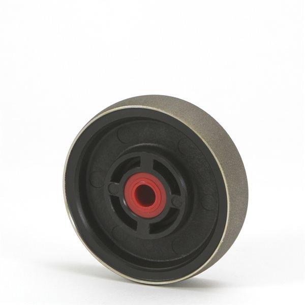 "Diamond Radius Wheel - 4""/102mm - 180 grit"