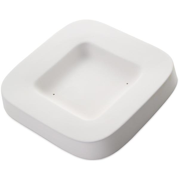 Round Edge Dish - 22.5x22.5x3.5cm - Basis: 12.7x12.7cm - Fusing Form