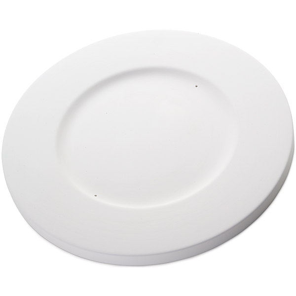 Round Plate - 32.6x1.8cm - Basis: 20.3cm - Fusing Form