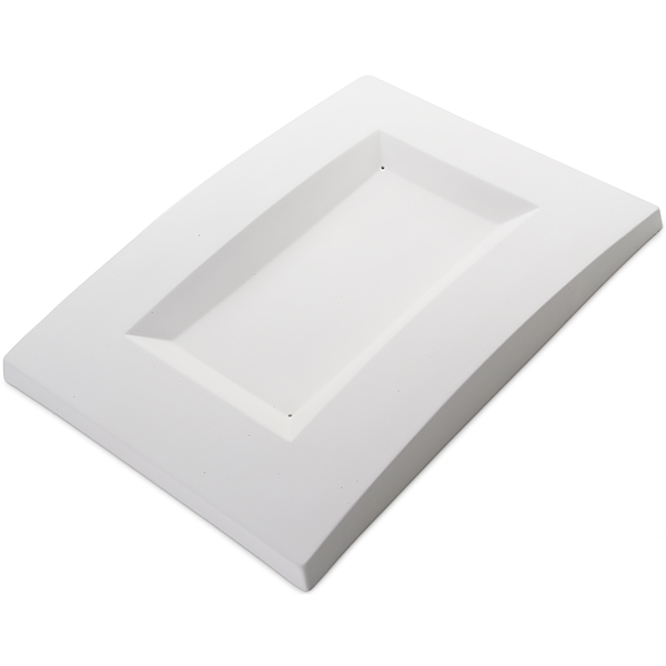 Convex Dish - 34.4x24.7x3.6cm - Basis: 23.5x13cm - Fusing Form