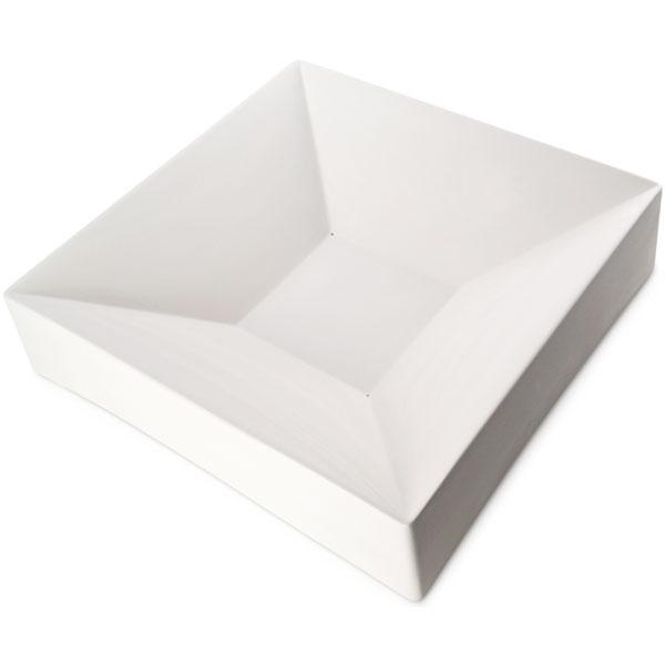 Party Bowl Square - 42.8x42.8x9.8cm - Basis: 15x15cm - Fusing Form