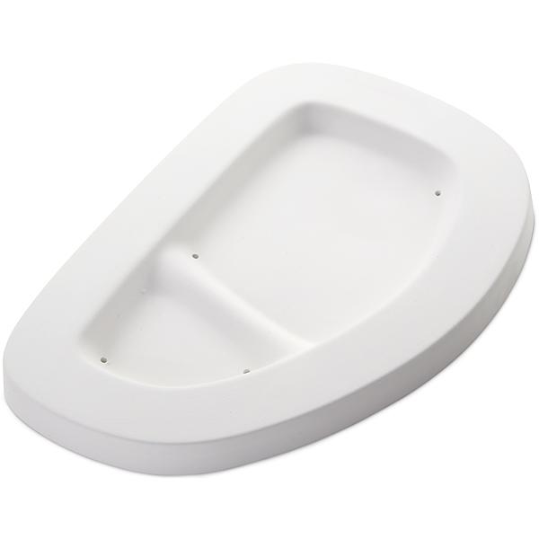 Snack Tray - 25.5x17.5x1.2cm - Basis: 19x10.7cm - Fusing Form