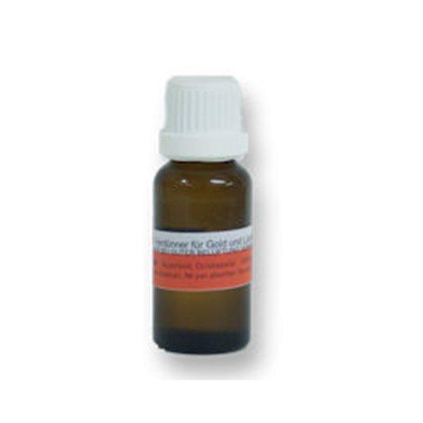 Verdünner für Glanzgold & Platin - 25ml