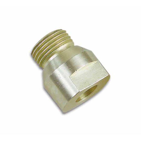 Adapter für Glasbohrer - 10mm Gewinde zu 1/2 Zoll Belgische Gewinde