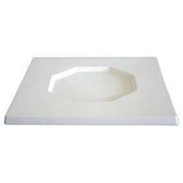 Square Platter - Octa - 39.2x39.2x2cm - Basis: 23cm - Fusing Form