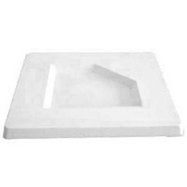 Square Platter - Penta - 34x34x2.5cm - Basis: 19.5cm - Fusing Form