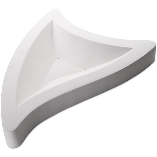 Triangle - 59x42.6x6.2cm - Basis: 41x32cm - Fusing Form