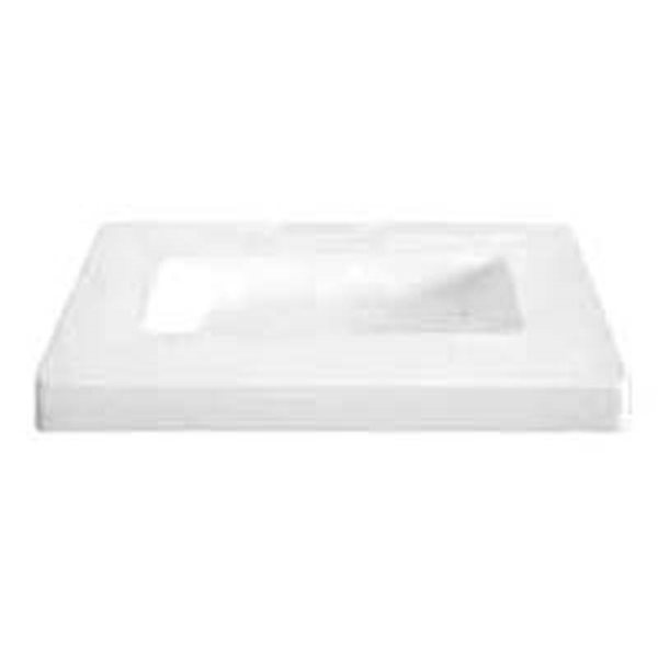Oblong Dish - 23x38.2x3.7cm - Basis: 25.8x11cm - Fusing Form
