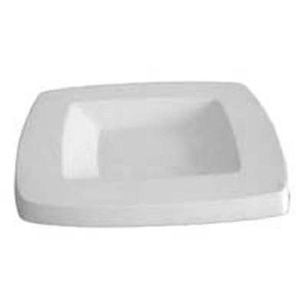 Round Edge Square Platter - 26.5x26.5x2.5cm - Basis: 15.7x15.7cm - Fusing Form