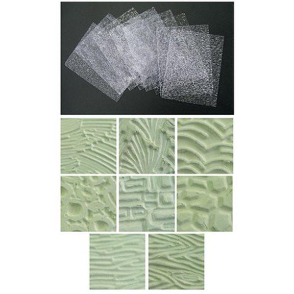 Texturplatten-Set - 8 Muster