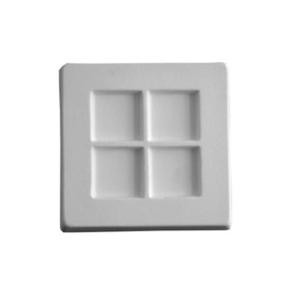 Segments 4 - 9x9.8x1.8cm - Öffnung:  2.5cm - Fusing Form