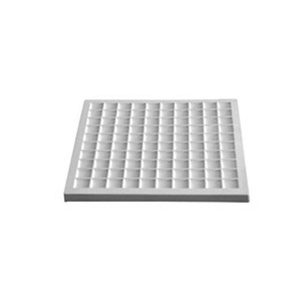 Segments 100 - 31.5x31.5x1.8cm - Öffnung:  2.6cm - Fusing Form
