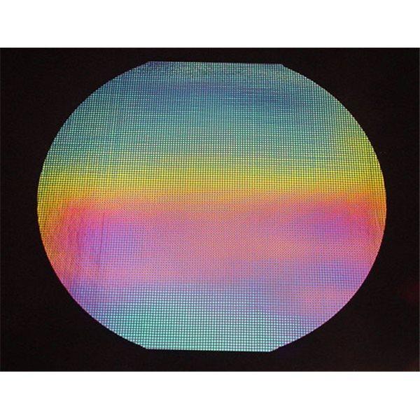 Dichroic - Square 1 - Rainbow - 1/4 Tafel