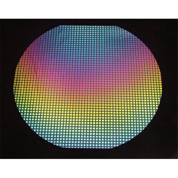 Dichroic - Square 3 - Rainbow - 1/4 Tafel