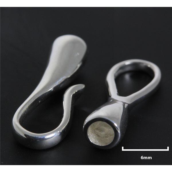 Armbandschliesse - Silber 925 - 1 Stk.