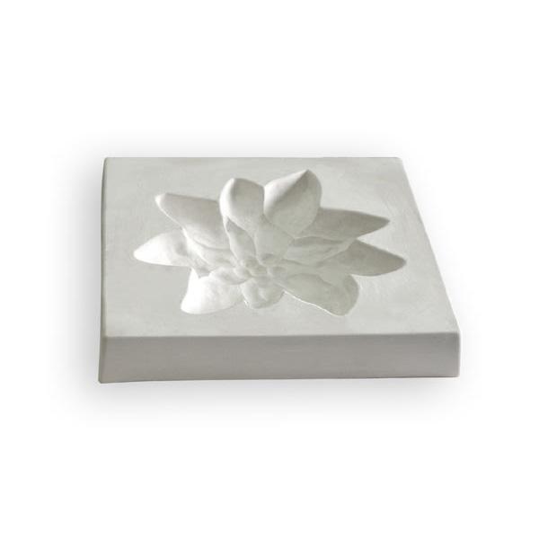 Edelweiss - 31.3x31.4x4.7cm - Öffnung: 25.1x24.6cm - Fusing Form