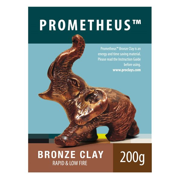 Prometheus Bronze Clay - Clay - 200g