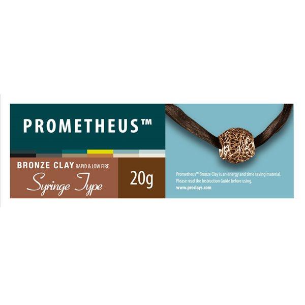 Prometheus Bronze Clay - Syringe & 3 Nozzles - 20g