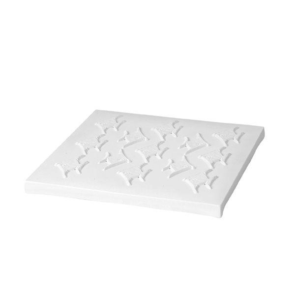 Texture - Fish - 32x32x2.8cm - Fusing Form