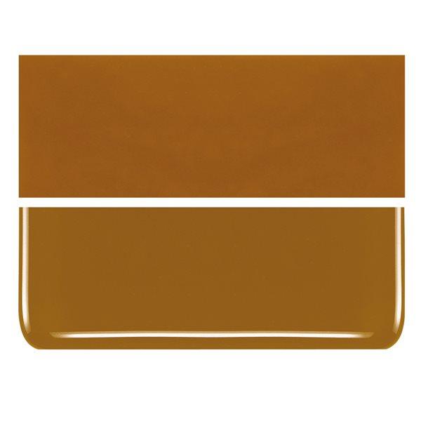Bullseye Butterscotch - Opalescent - 2mm - Thin Rolled - Fusing Glas Tafeln