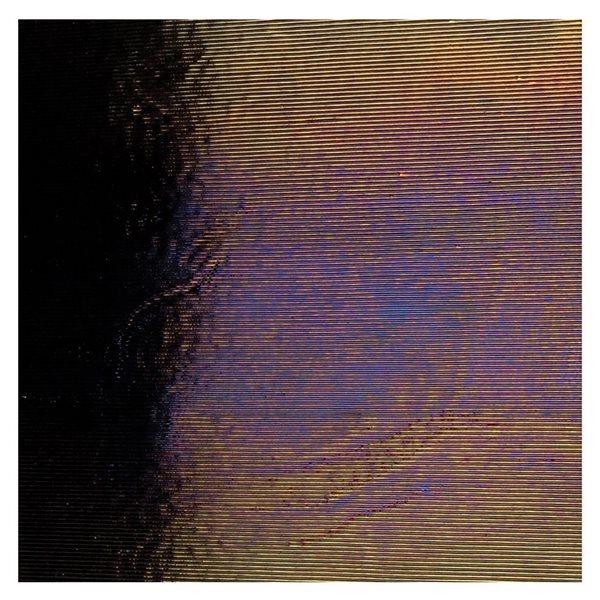 Bullseye Black - Opalescent - Reed Irid - 3mm - Fusing Glas Tafeln
