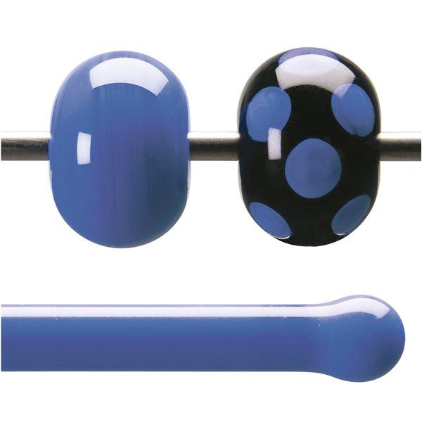 Bullseye Rods - Cobalt Blue Opaque - 4-6mm - Opalescent