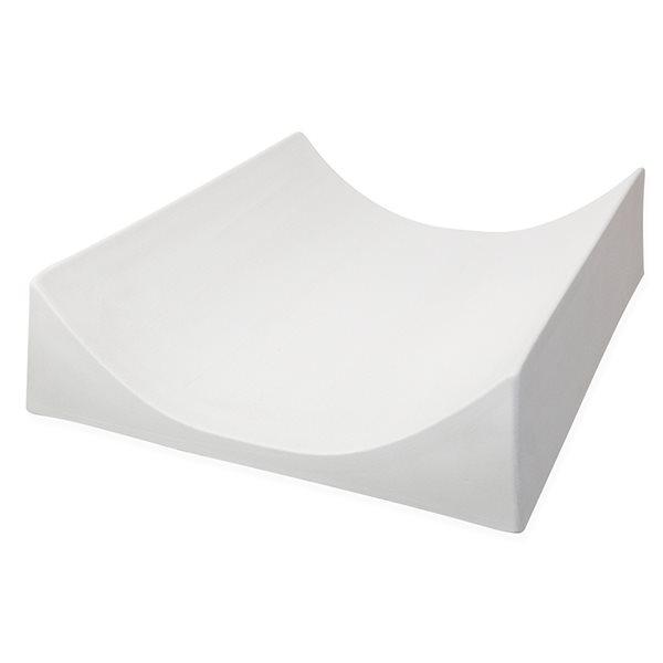 Simple Curve - 40.6x31.8x9.5cm - Fusing Form
