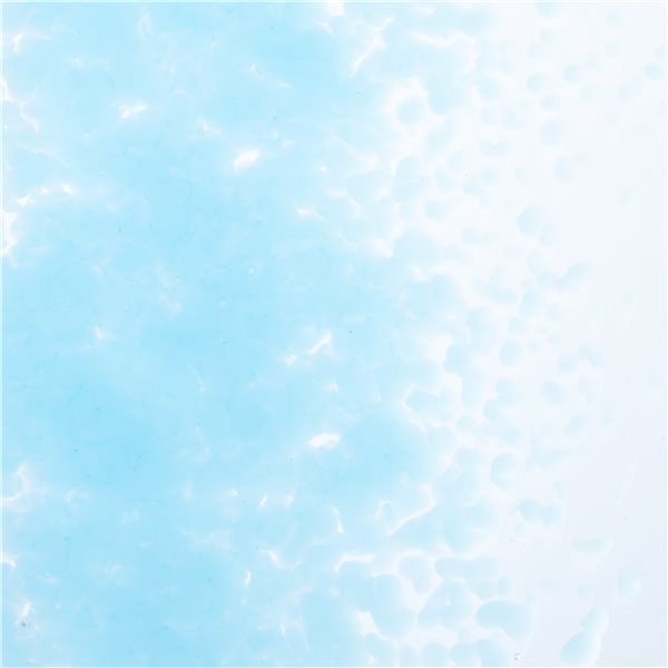 Bullseye Frit - Glacier Blue - Mittel - 2.25kg - Opaleszent