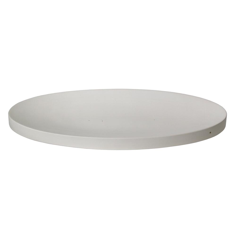 Oval - 51x17.5x2.7cm - Fusing Form