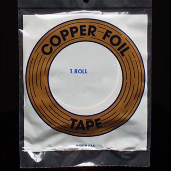 "Kupferfolie - Edco - 1/4"" - 6.4mm - Silber"