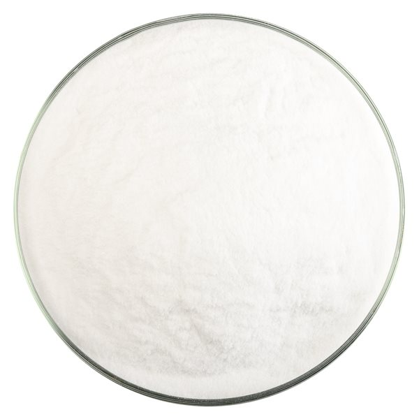 Bullseye Frit - Clear Irid Rainbow - Mehl - 450g - Transparent