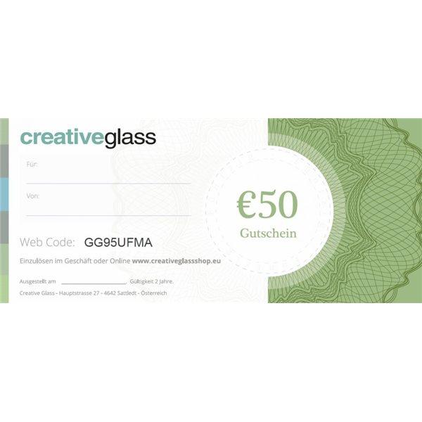 Geschenk Gutschein 50 EUR