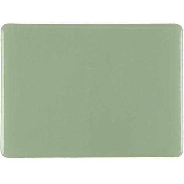 Bullseye Celadon - Opalescent - 2mm - Thin Rolled - Fusing Glas Tafeln