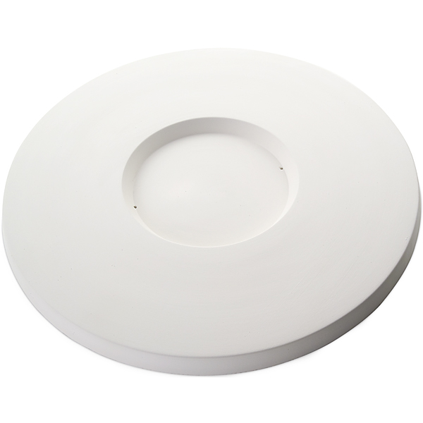 Round Platter - 37.5x2cm - Basis: 15.6x1.5cm - Fusing Form