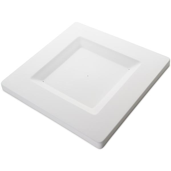 Soft Edge Square Platter - 37.5x37.5x2.5cm - Basis: 25x25cm - Fusing Form