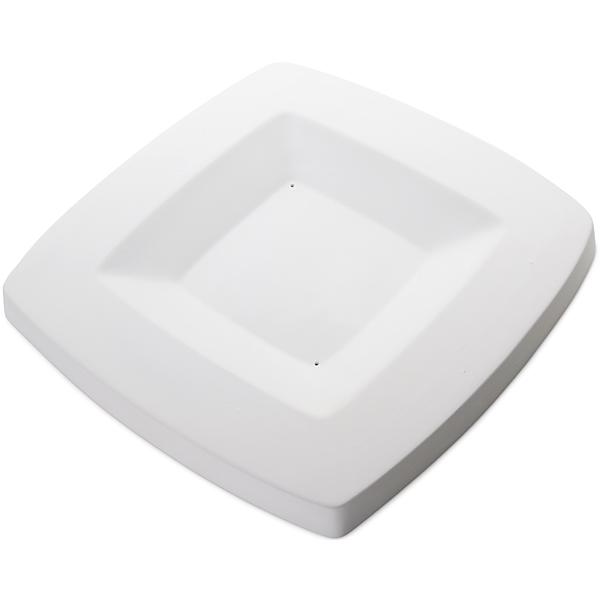 Round Edge Square Platter - 36.5x36.5x2.9cm - Basis: 23x23cm - Fusing Form