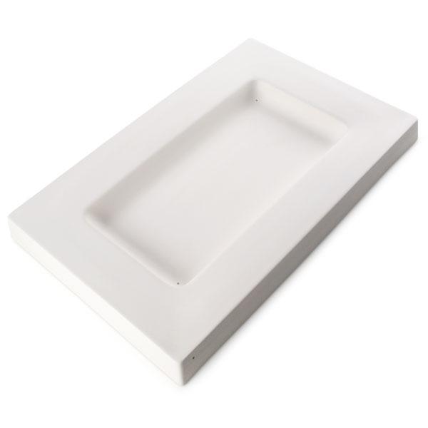 Party Platter - 53.7x34.7x4.6cm - Basis: 37.5x19cm - Fusing Form