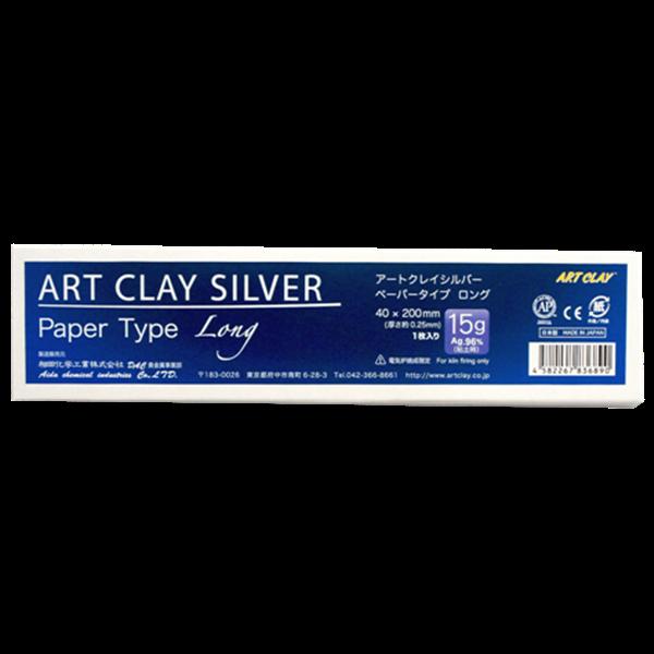Art Clay Silver - Paper Type - Long - 40x200x0.25mm - 15g